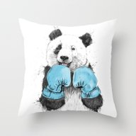 Throw Pillow featuring The Winner by Balazs Solti