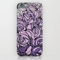 iPhone & iPod Case featuring String Bouquet - Lavender by Jen Posford