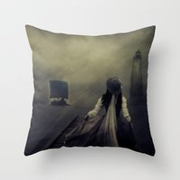 After The Long Waiting Throw Pillow