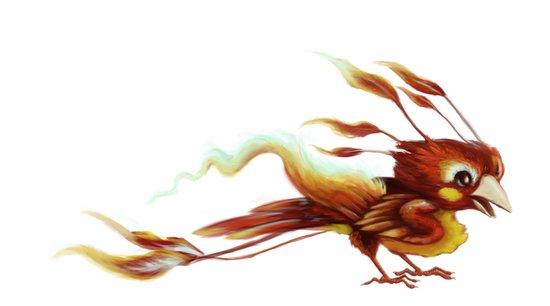 Little Phoenix Art Print