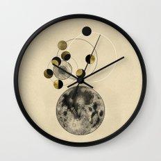 Moon Wall Clock