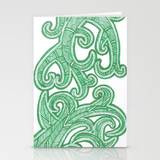 weeds Stationery Card