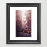 Ten Of Swords (Jesse Pin… Framed Art Print