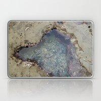 the heart shaped tide pool  Laptop & iPad Skin