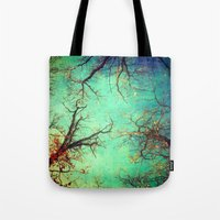 Dance Of The Trees Tote Bag