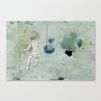 Numbers: 73588 Canvas Print