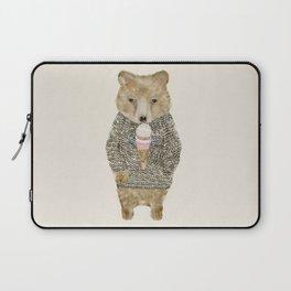 Laptop Sleeve - sundae bear - bri.buckley