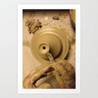 ceramic Art Print