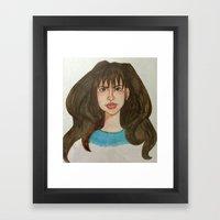 Hermione Granger. A Port… Framed Art Print