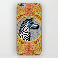 The Carousel Zebra iPhone & iPod Skin