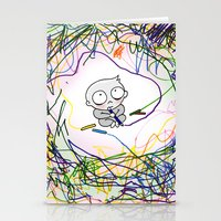Terrible Twos Stationery Cards