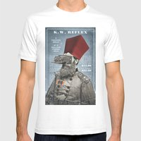Sultan Ibrahim, The Mono… Mens Fitted Tee White SMALL