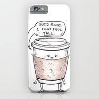 iPhone & iPod Case featuring Small Coffee Problems by Donta Santistevan
