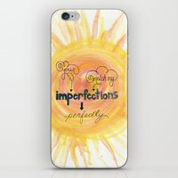 Imperfections iPhone & iPod Skin