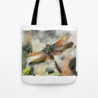 Dragonfly Garden - Tote Bag