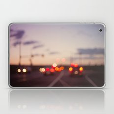 highway at dusk Laptop & iPad Skin