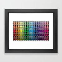 VW Spectrum Framed Art Print