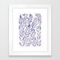 Wild Blue Framed Art Print