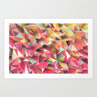Kaos Fashion Art Print