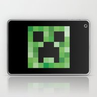 Creeper Laptop & iPad Skin