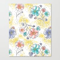 Brilliant Blooms Canvas Print