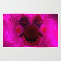 Cotton Candy Clown Rug