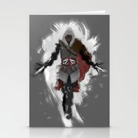 Assasins Grey Stationery Cards