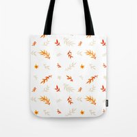 Watercolor Autumn Tote Bag