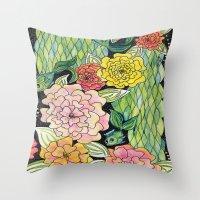 Fish Tropic Throw Pillow