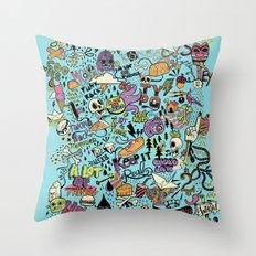 For the love of drawing Throw Pillow