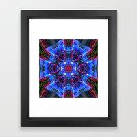 Aztec Mystic Framed Art Print