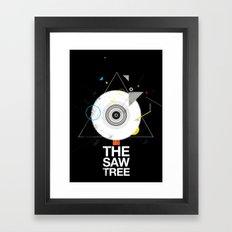 The saw tree Framed Art Print