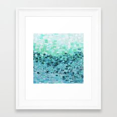 :: Sea Glass Compote :: Framed Art Print
