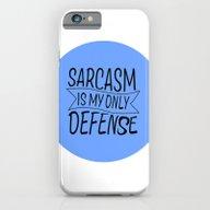 TEEN WOLF- SARCASM IS MY… iPhone 6 Slim Case