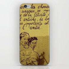 French Graffiti in Paris iPhone & iPod Skin