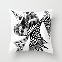 Ubiquitous Bird Throw Pillow