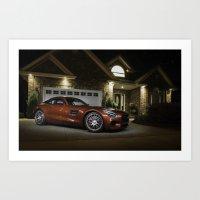 Mercedes-AMG GT S Art Print