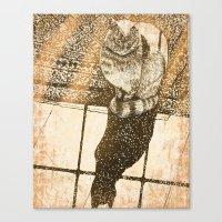 Window Cat Canvas Print