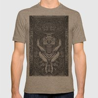 3:33 Live From the Grove - Moloch print Mens Fitted Tee Tri-Coffee SMALL