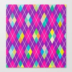 Colorful Geometric IV Canvas Print