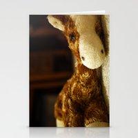 Stuffed Giraffe #1 Stationery Cards