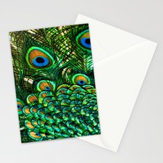 Pretty Peacock Stationery Cards