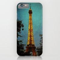 L'Eiffel - Eiffel Tower at Night iPhone 6 Slim Case