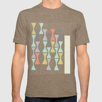 Timeless by Friztin Mens Fitted Tee Tri-Coffee SMALL