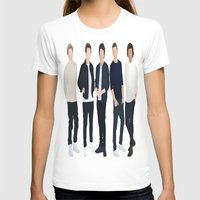 one direction T-shirts featuring One Direction by kikabarros