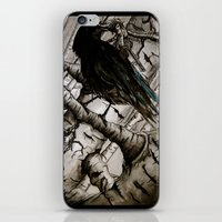The Raven Girl iPhone & iPod Skin