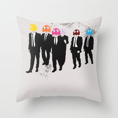 Reservoir Ghosts Throw Pillow