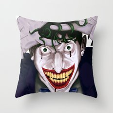 The Killing Joke Throw Pillow