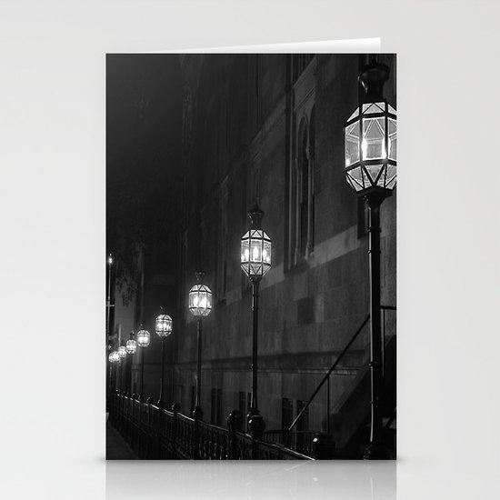 Late Night Lights Stationery Card