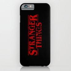 Stranger Things Grunge iPhone 6 Slim Case